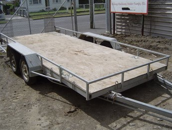Tandem Axle Car Trailer